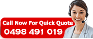Call Now For Quick Quote