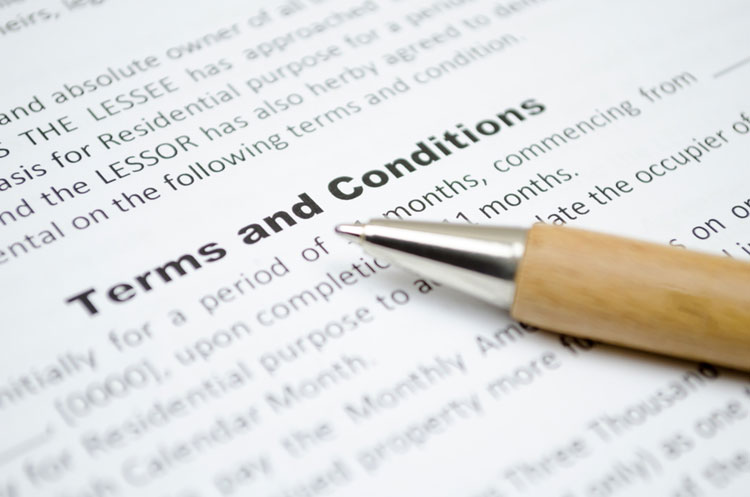 Terms, conditions and facilities offered by the wreckers